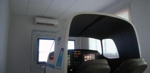 Sala do Simulador de Vôo